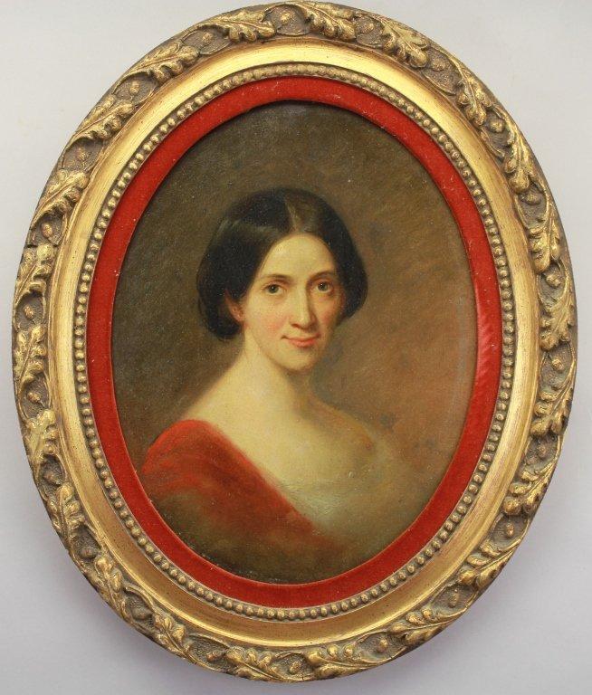 19th C. Portrait of a European Woman