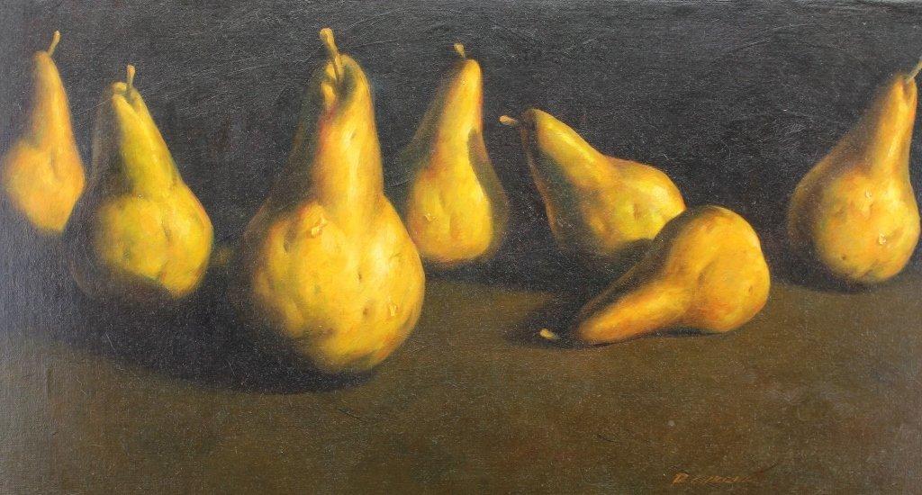 Richard Courrier (20th C.) Pears - 2