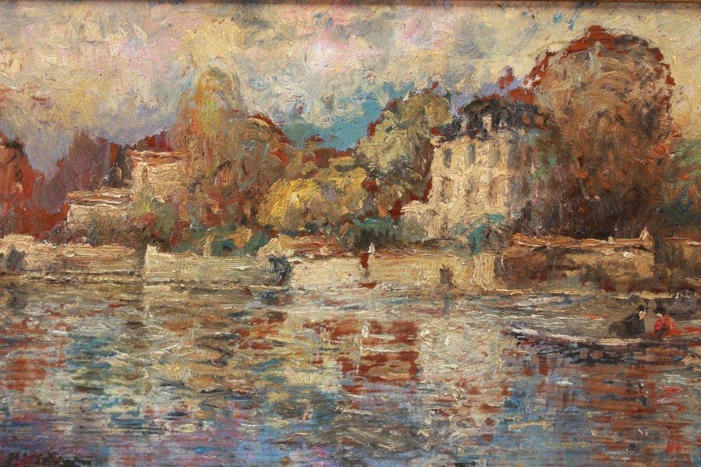Antique American Impressionist Scene - 2