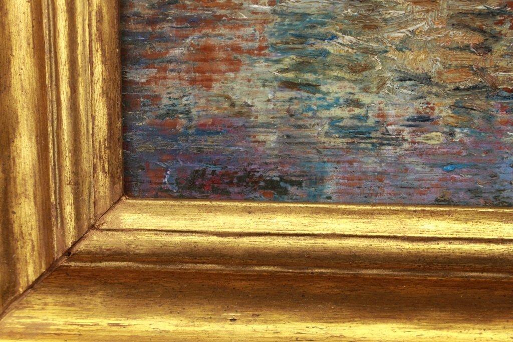 Antique American Impressionist Scene - 3