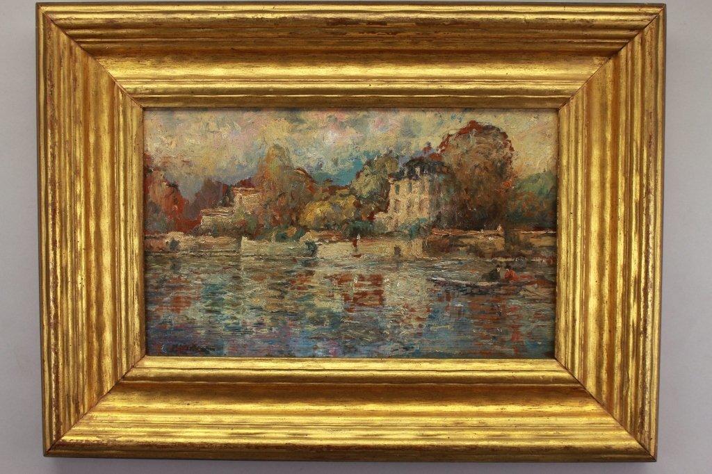 Antique American Impressionist Scene - 4