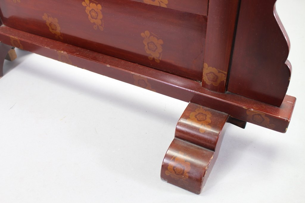 Finely Carved Meiji Period Japanese Fire Screen - 7