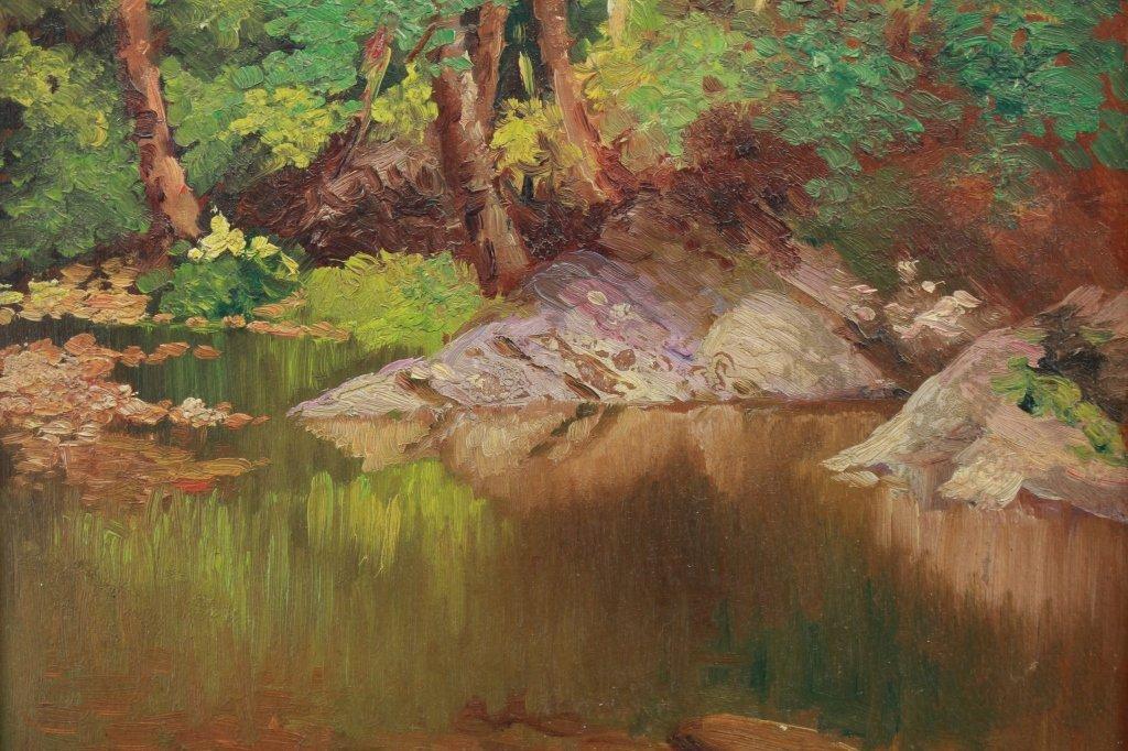 American School, 20th C. River Landscape - 2