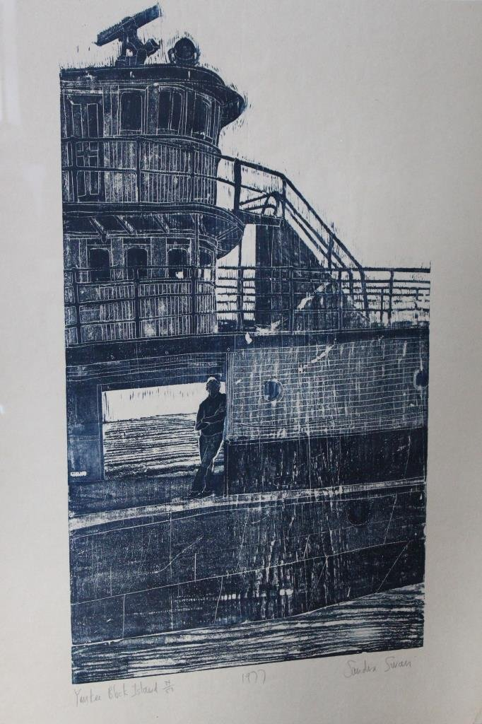 'Block Island' Sandra Swan (1934-)