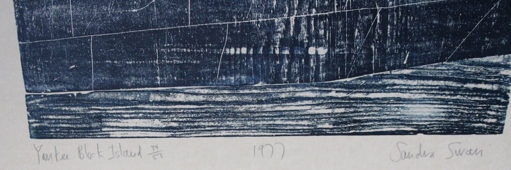 'Block Island' Sandra Swan (1934-) - 3