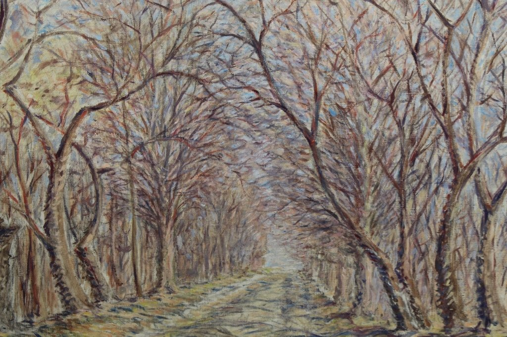 Anthony F. Kimbel (20th C) Wooded Pathway - 2