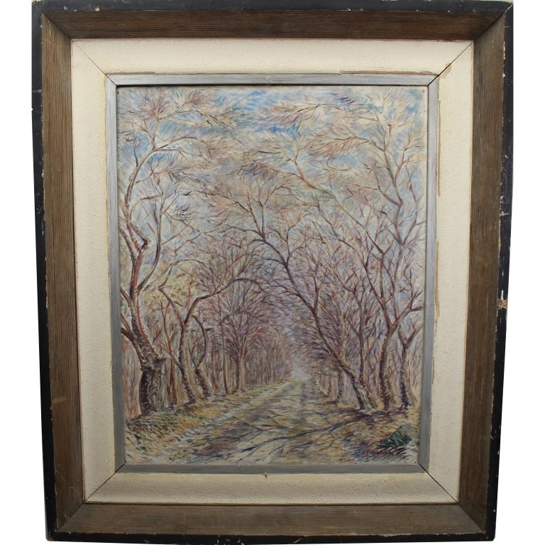 Anthony F. Kimbel (20th C) Wooded Pathway - 4