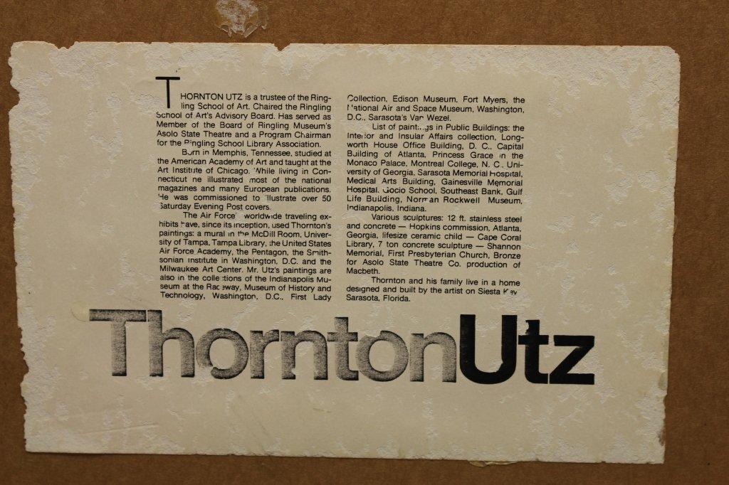 Thornton Utz  (1914 - 1999) Illustration - 3