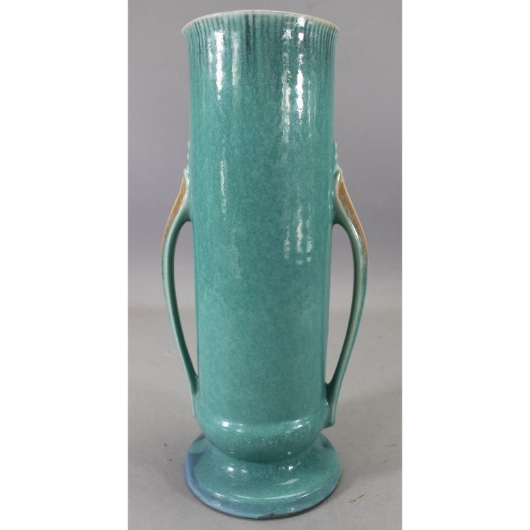 Vintage Double Handled Orion Pottery Vase