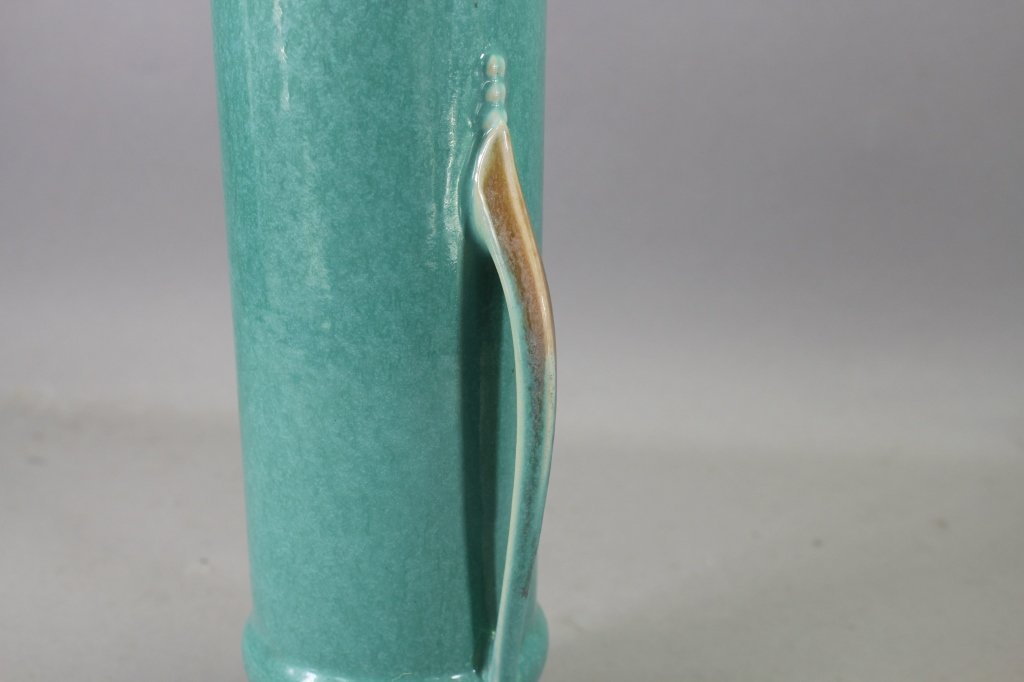Vintage Double Handled Orion Pottery Vase - 4