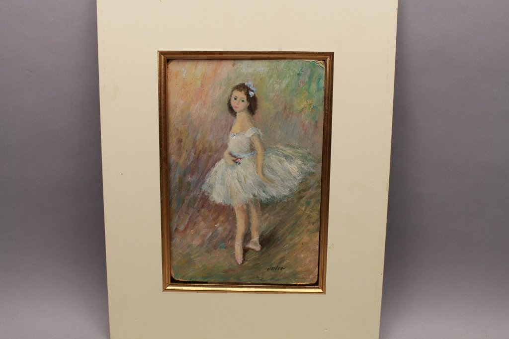 Style of Renoir, Signed Ballerina O/B - 3
