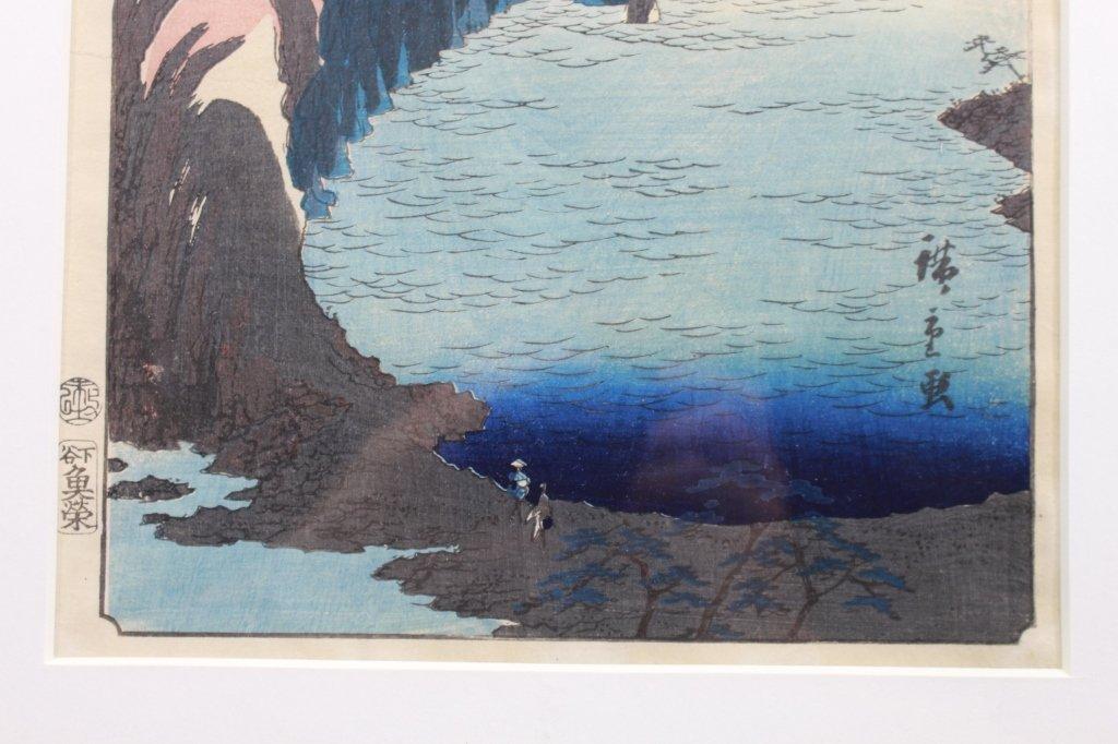 Hiroshige (1826-1870) First Edition Woodblock - 3