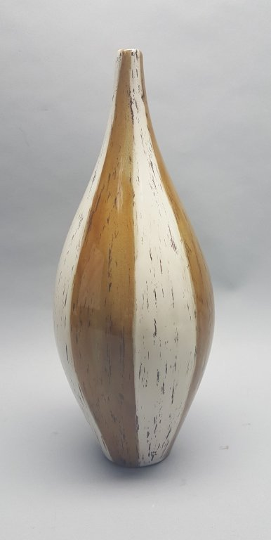Two-Toned Glazed Pottery Vase