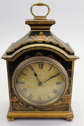 Grimshaw Baxter & JJ Elliott Chinoiserie Clock