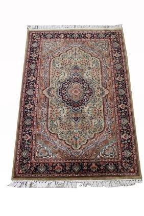 Semi Antique Indo Persian Rug