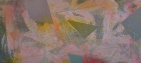 Large Richard Weston (20th C.) Abstract