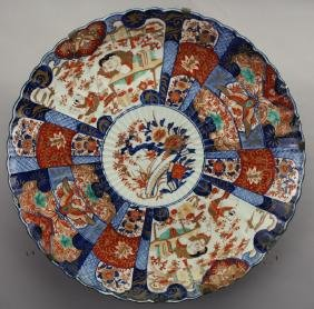 Monumental Antique Japanese Imari Charger