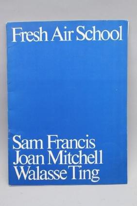Fresh Air School Sam Francis, J. Mitchell, W. Ting