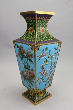 Bronze Chinese Cloisonne Vase