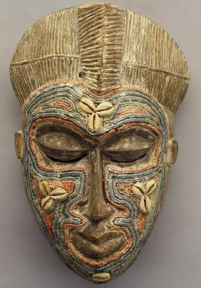 Carved Mask, New Guinea