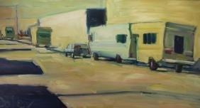 Nicholas Coley (born 1971) Street Scene