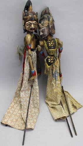 (2) Indonesian Puppets