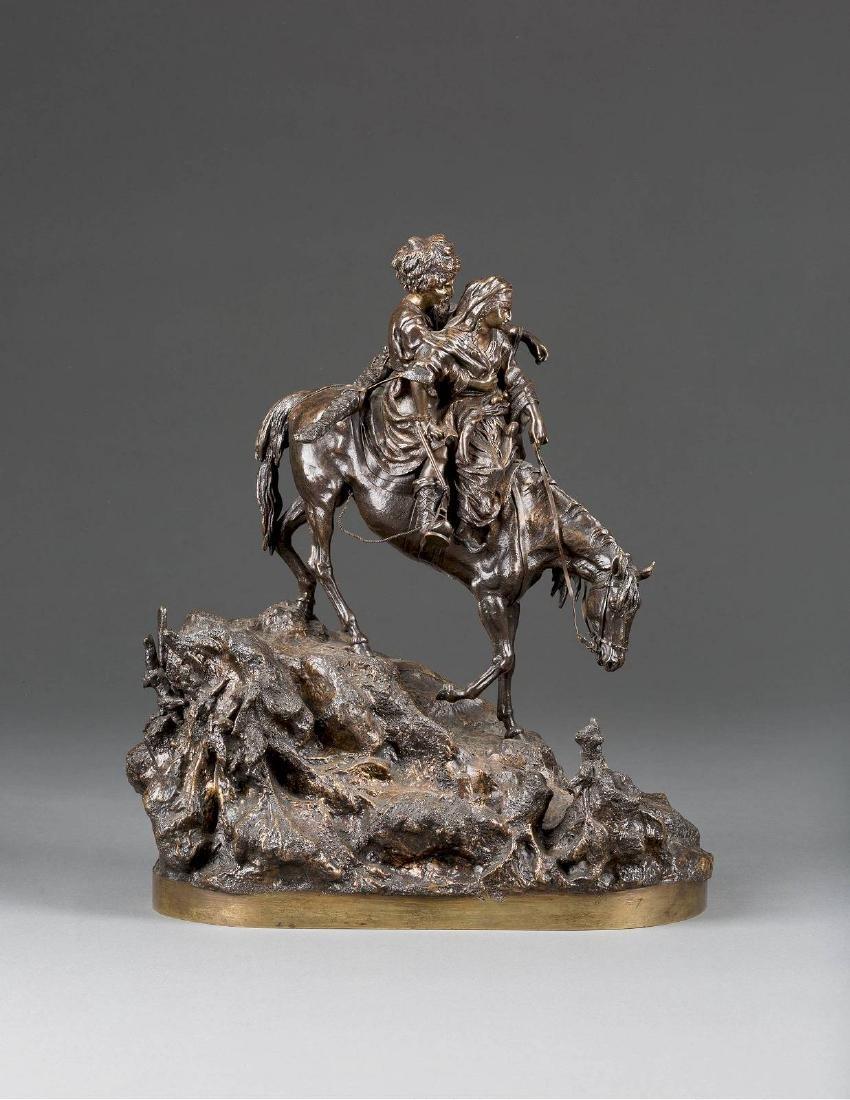 VASILI JAKOVLEVITCH GRATCHEV 1831-1905 REITENDES