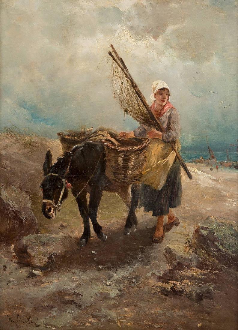 HENRY SCHOUTEN 1864 Indonesien - 1927 Gent