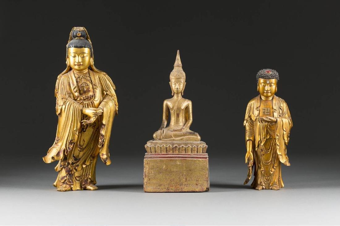 DREI BUDDHA-FIGUREN