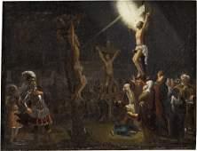 JESUS UND DIE BEIDEN SCHÄCHER AM KREUZ