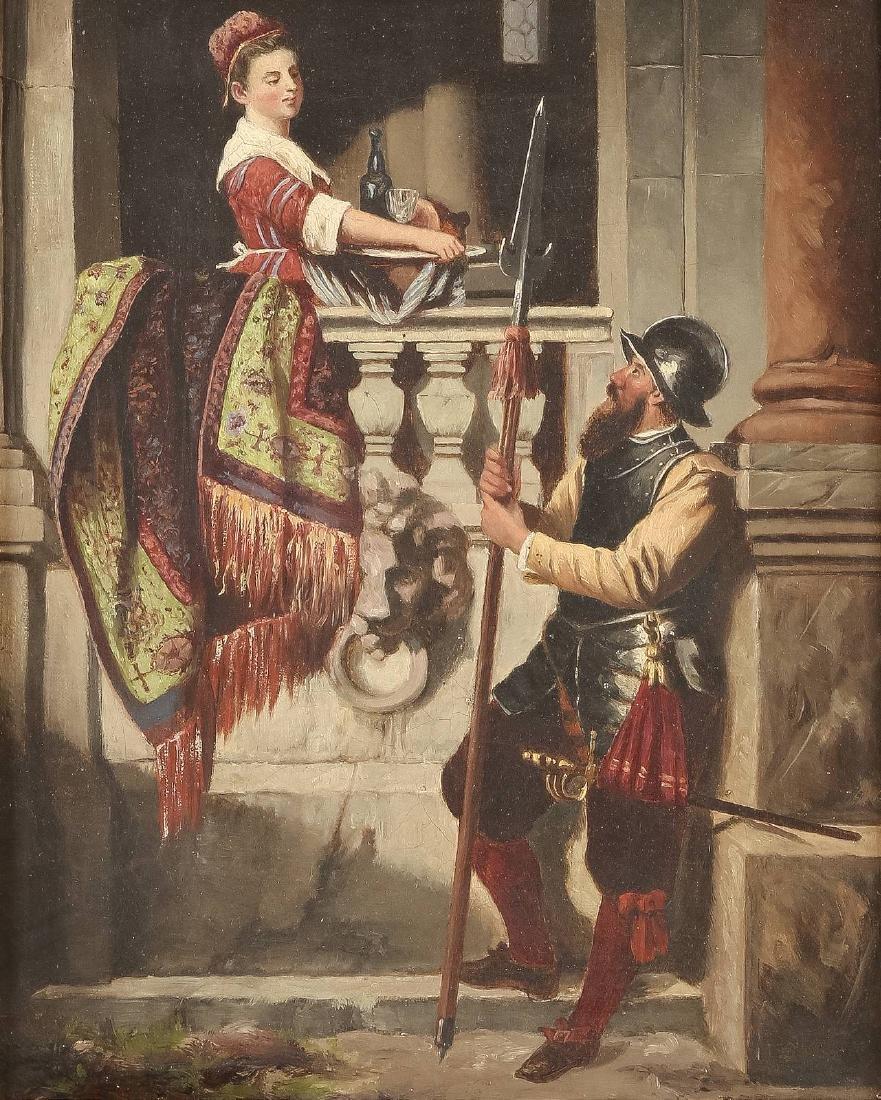 Landsknecht und Dienstmagd