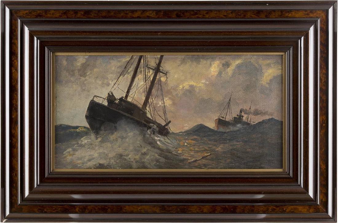 Schiffe auf stürmischer See - 2