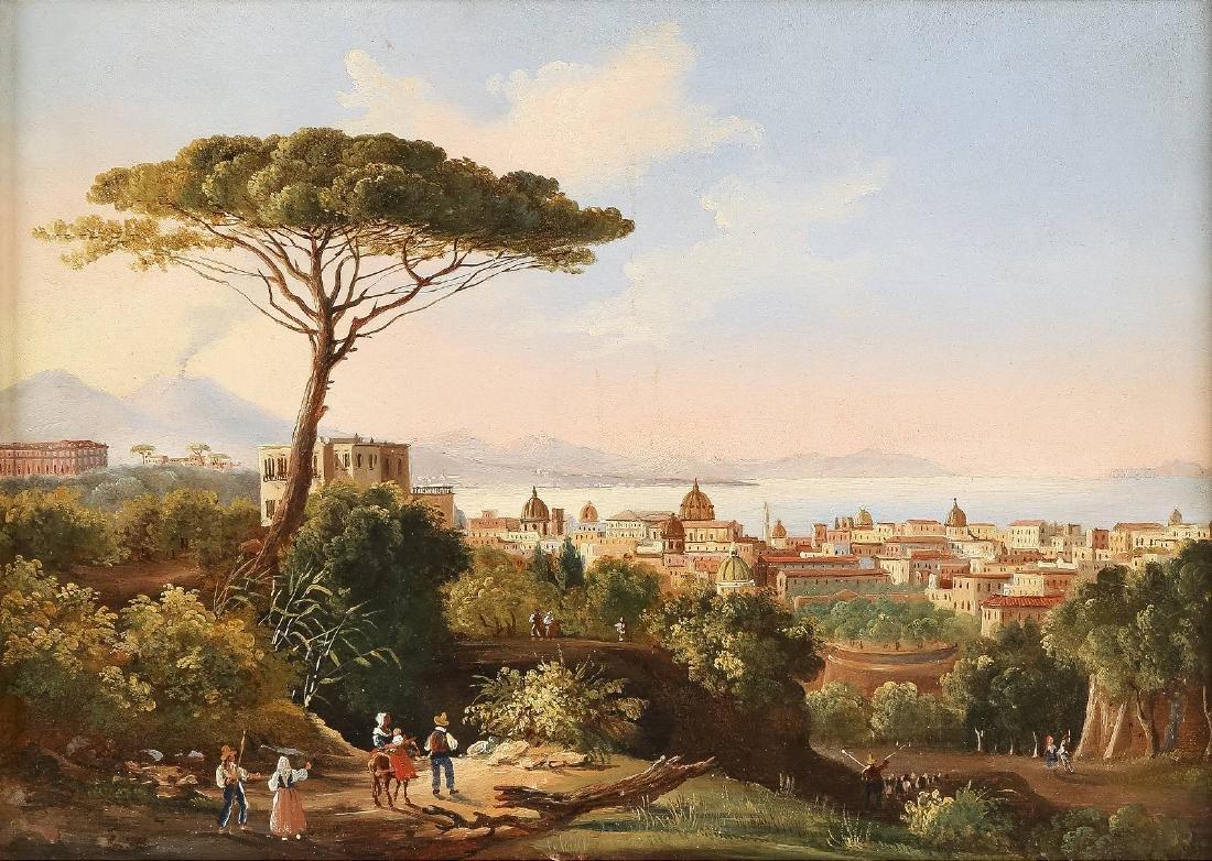 Blick auf die Bucht von Neapel