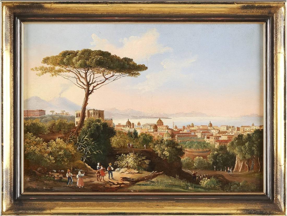 Blick auf die Bucht von Neapel - 2
