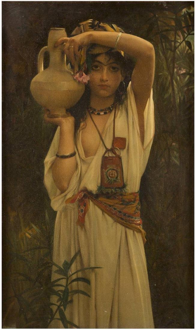 Orientalin mit Wasserkrug