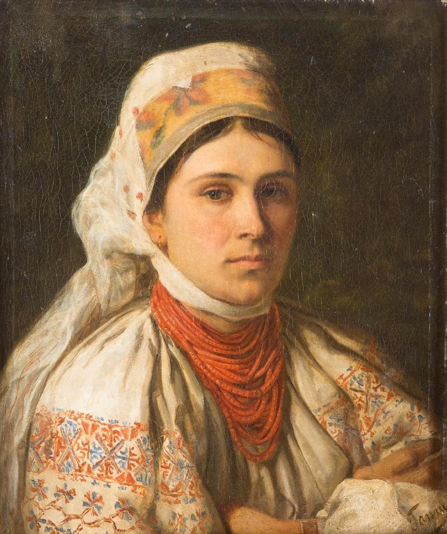 POLISH PAINTER active in 19th century PORTRAIT EINER