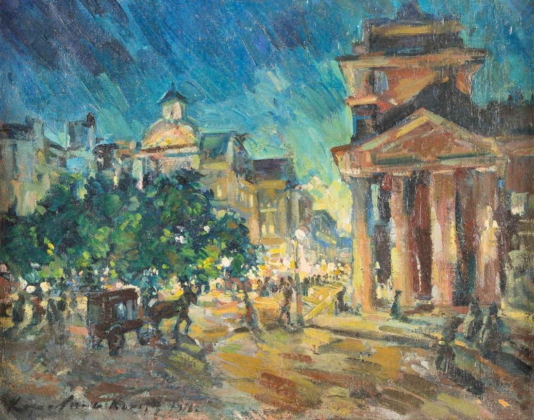 CONSTANTIN ALEXEEVITCH KOROVIN 1861 Moscow - Paris 1939
