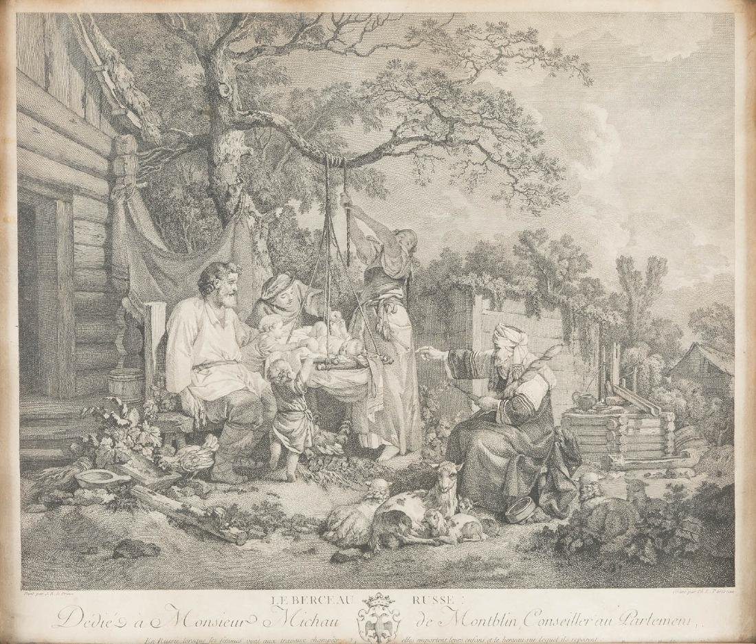 JEAN BAPTISTE LEPRINCE ( LE PRINCE) 1734 Metz - St.