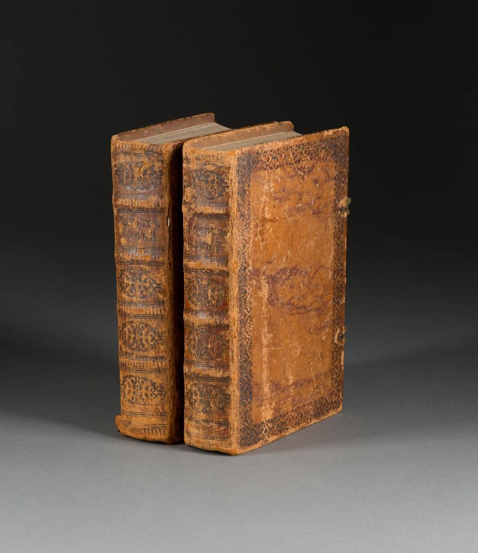 TWO LITURGICAL BOOKS (OCTOECHOS) Russia, 17th/ 18th