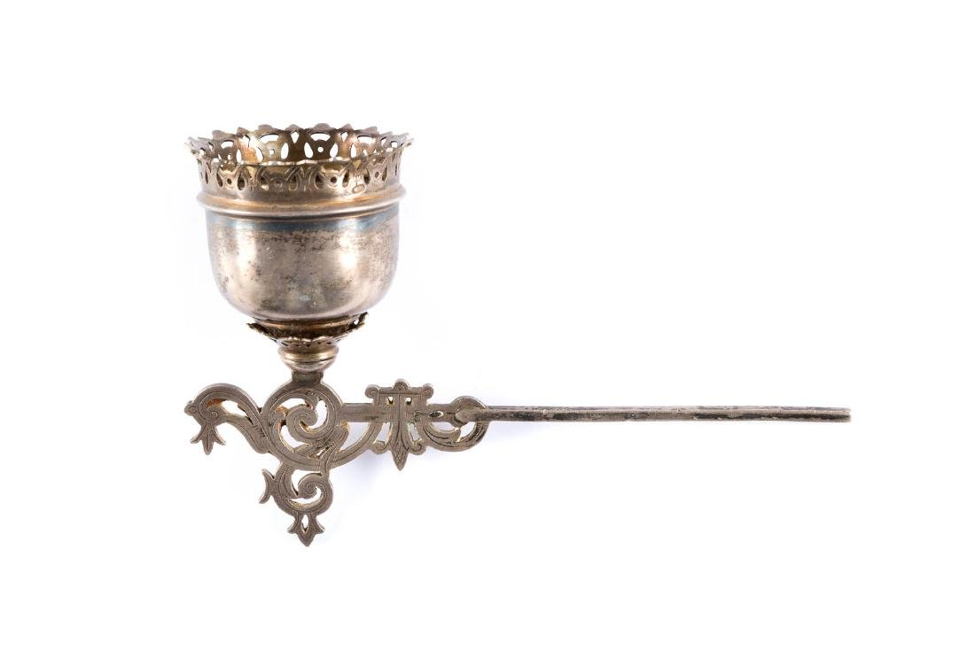 A SILVER ICON LAMP Russian, Moscow, 1908-1917 With