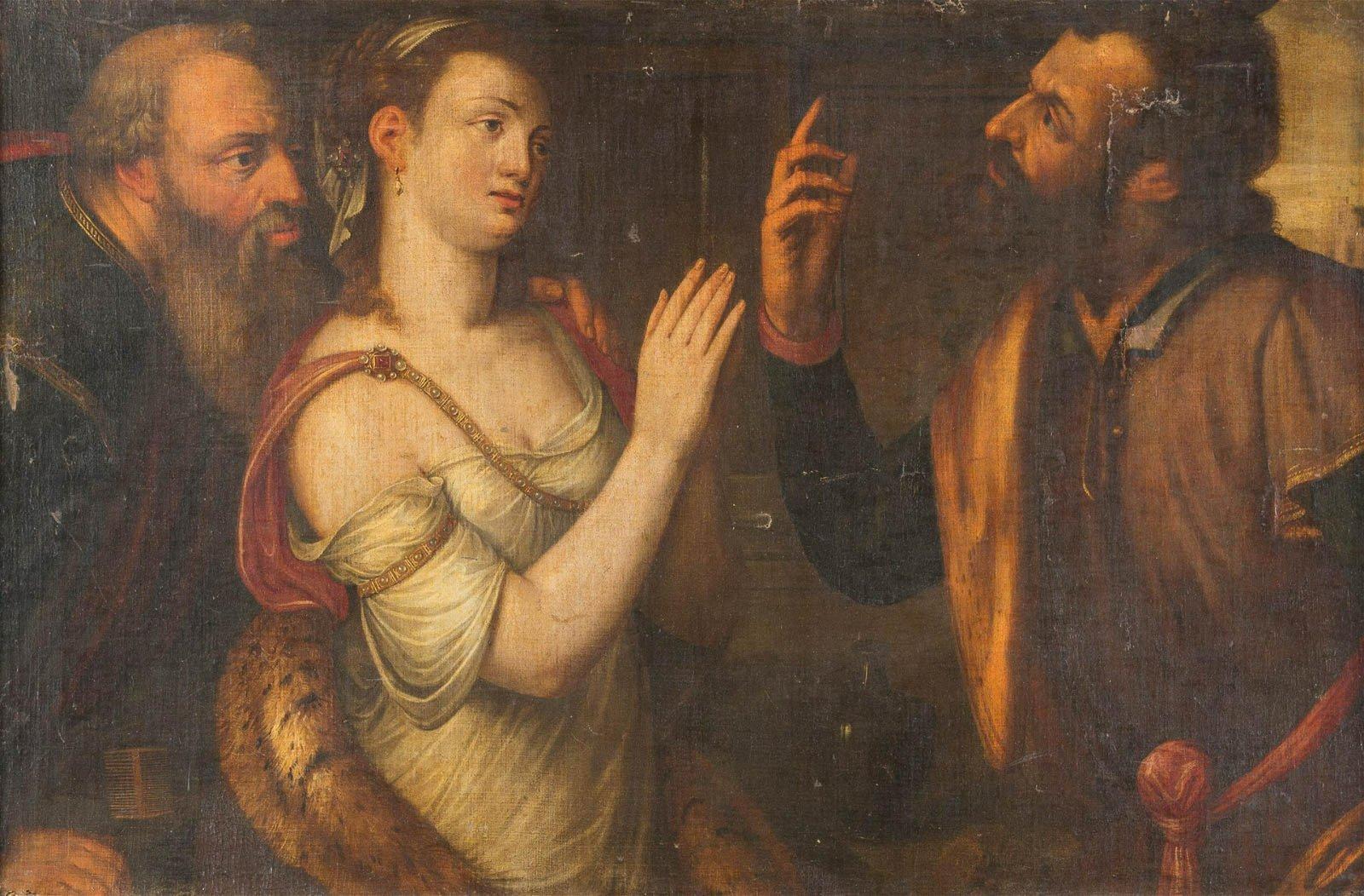 ITALIAN/FLEMISH SCHOOL Master active 16th century