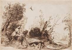 GUERCINO (GIOVANNI FRANCESCO BARBIERI) (CIRCLE) 1591