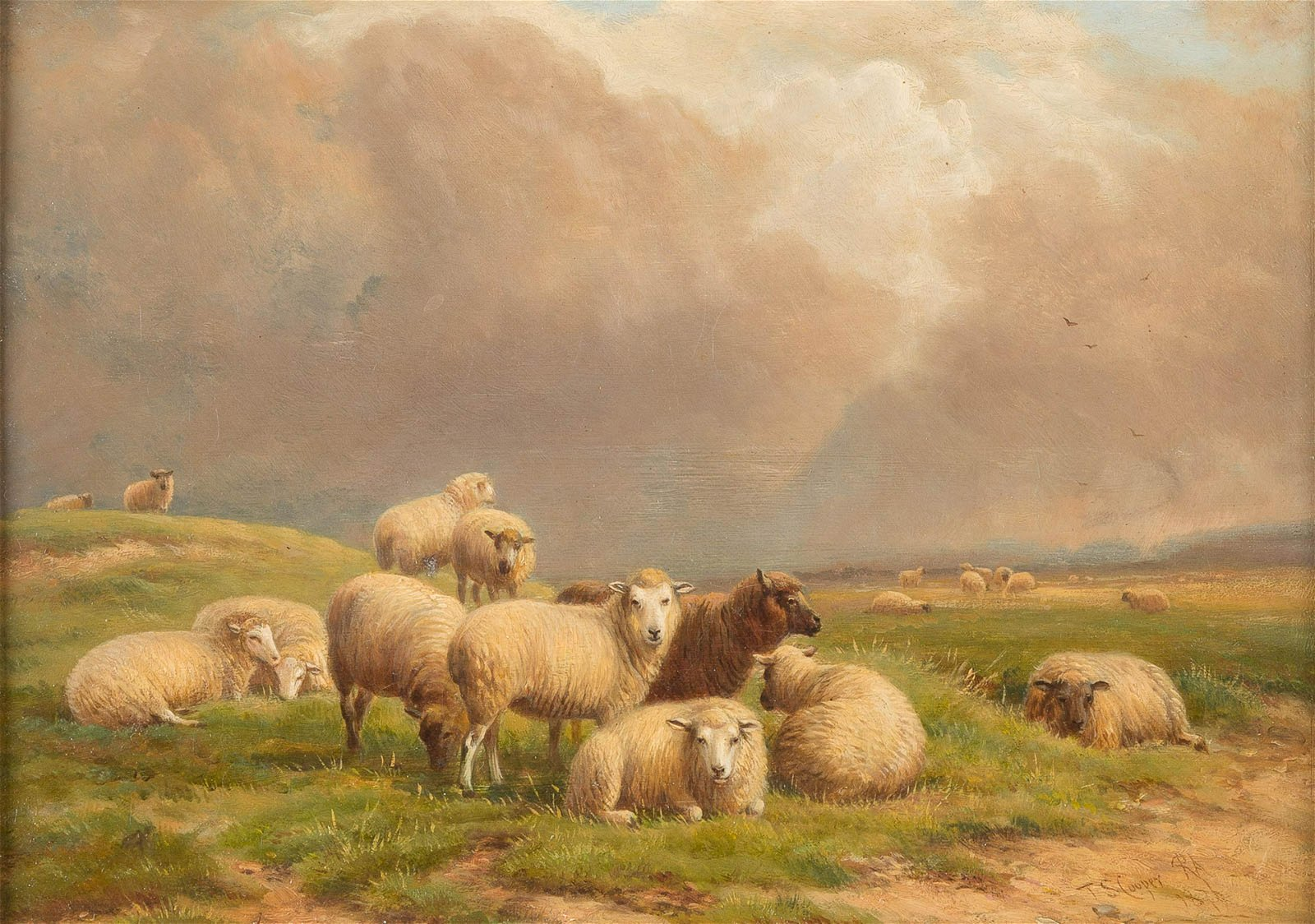 THOMAS SIDNEY COOPER 1803 Canterbury - 1902 Harbledown