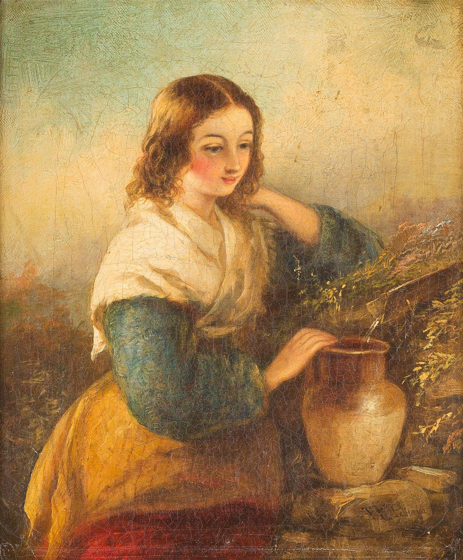 THOMAS KENT PELHAM Act. c. 1860 - c. 1891 London Girl