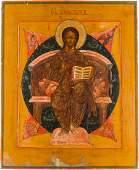 GROSSE IKONE MIT CHRISTUS, DEM ALLHERRSCHER