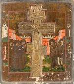 STAUROTHEK-IKONE MIT DER KREUZIGUNG CHRISTI