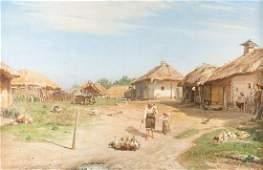 Ukrainisches Dorf