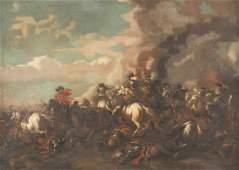 JAN VAN HUCHTENBURGH ATTR 1647 Haarlem  1733