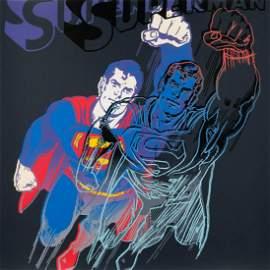 ANDY WARHOL 1928 Pittsburgh - 1987 New York 'SUPERMAN'