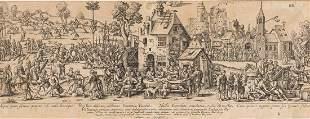 TWO ENGRAVINGS Jean-Théodore De Bry (1561 - 1623)